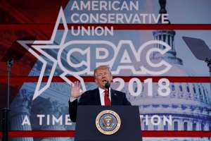 Trump The Brave Talks At CPAC2018 About Scot Peterson